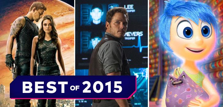 Best fo 2015 movie quiz, jurassic World, Jupiter Ascending, photo