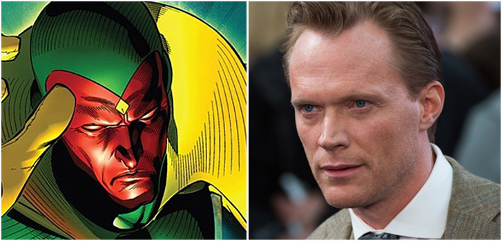 Vision, Paul bettany, Avengers Age of Ultron, photo