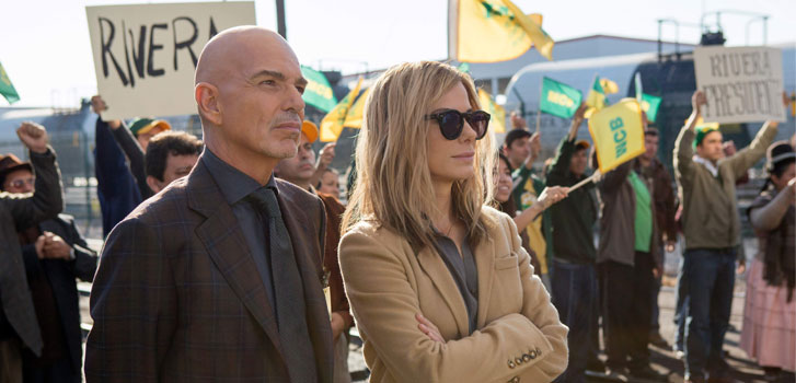 Billy Bob Thornton, sandra Bullock, Our Brand is Crisis, photo