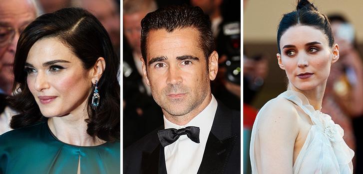 Rachel Weisz, Colin Farrell, Rooney Mara, Cannes, photo