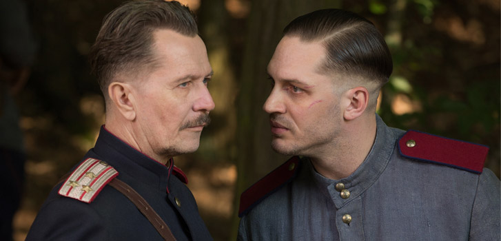 Gary Oldman, Tom Hardy, Child 44, photo
