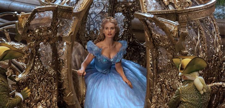 Lily James, Cinderella, Disney, photo