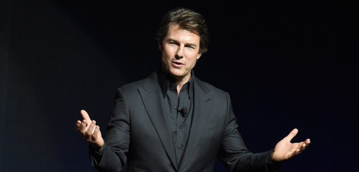 Tom Cruise, CinemaCon, Mission: Impossible, photo