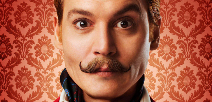 Johnny Depp, Mortdecai, photo