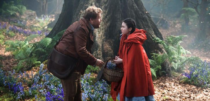 James Corden, Lilla Crawford, Into the Woods, photo