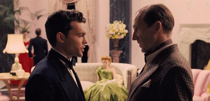 Alden Ehrenreich, Ralph Fiennes, Hail Caesar, photo
