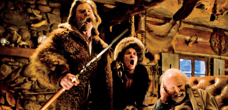 The Hateful Eight, 70mm, Cineplex, photo