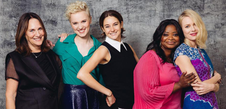 Lucy Fisher, veronica Roth, Shailene Woodley, Octavia Spencer, naomi Watts, Insurgent, photo