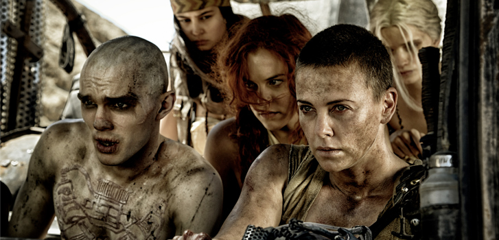 Mad MAx: Fury Road, Golden Globes reactions, photo