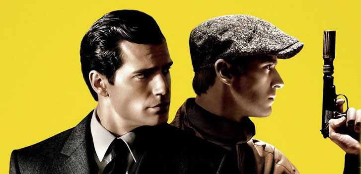 Armie Hammer, Henry Cavill, The Man from UNCLE, photo