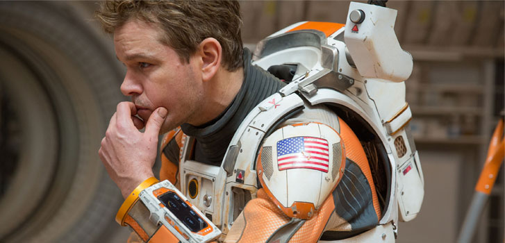 Matt Damon, The Martian, video, 727