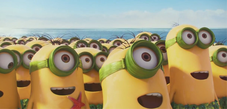 Minions movie, photo