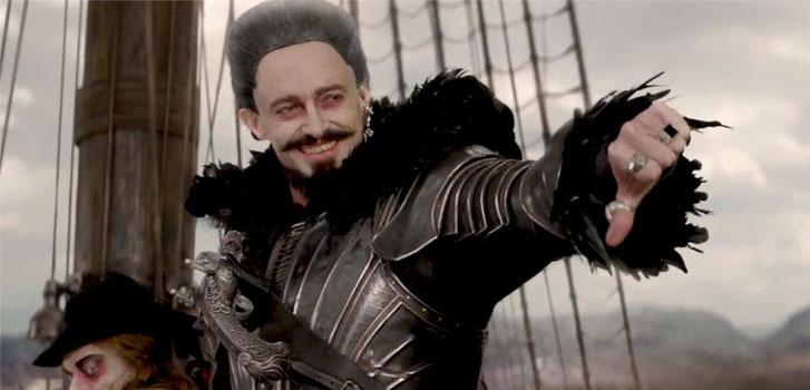 Hugh jackaman, Blackbeard, Pan, Comic-Con, photo