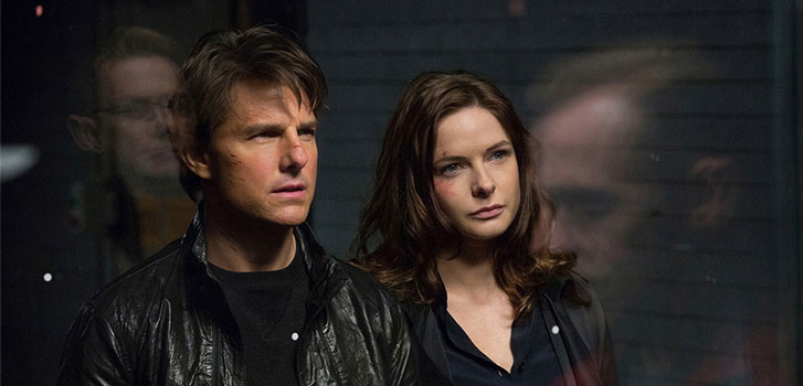 TOm Cruise, rebecca Ferguson, Mission: Impossible - Rogue Nation, photo
