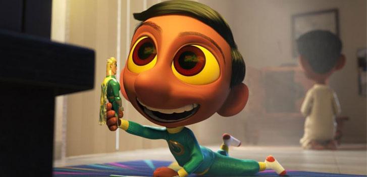 Sanjay's Super Team, The Good Dinosaur, Pixar short, photo