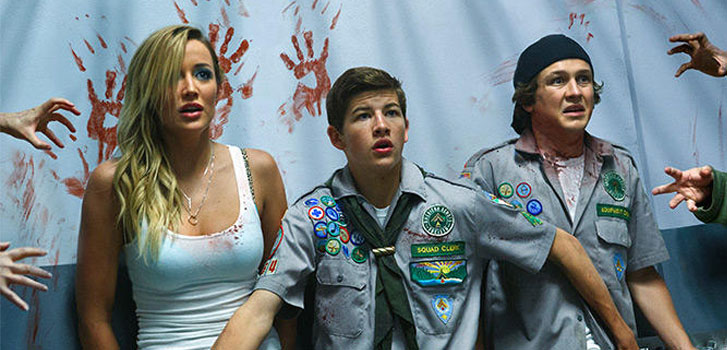 scouts guide to the zombie apocalypse party scene