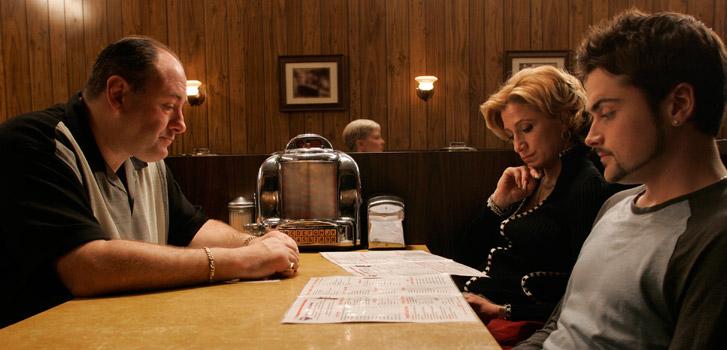 The Sopranos, blu-ray, photo