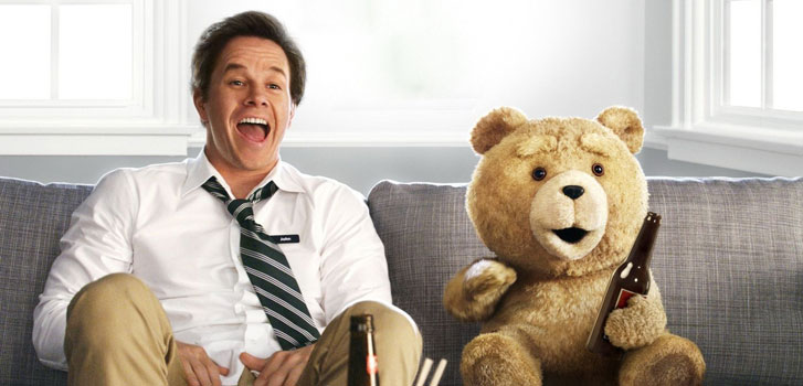 Seth MacFarlane and Mark Wahlberg are still pals in 3 new Ted 2 clips