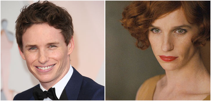Eddie Redmayne, The Danish Girl, photo