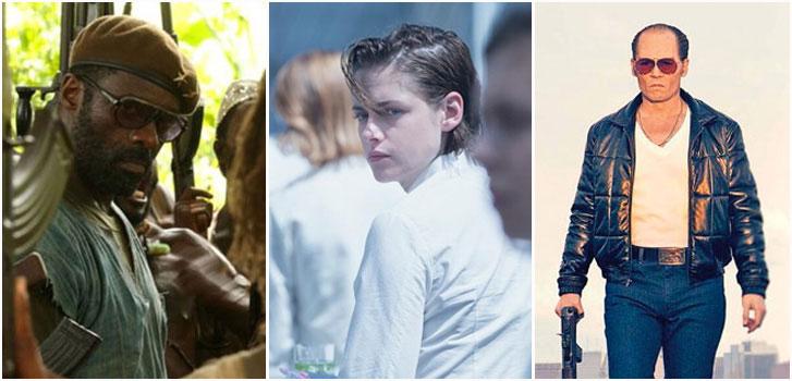 Idris Elba, Kristen Stewart, Johnny Depp, Venice, photo