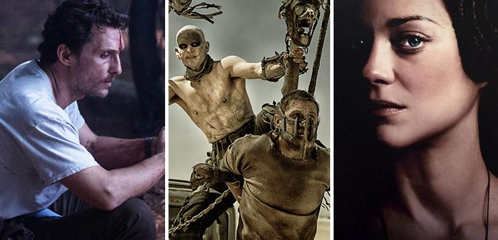 Matthew McConaughey, Sea of Trees, Mad Max: Fury Road, Marion Cotillard, Macbeth, Photo