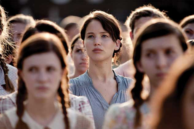 the hunger games, jennifer lawrence, katniss everdeen