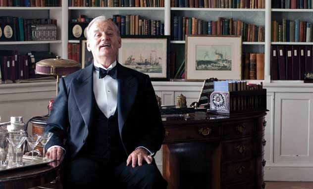 hyde park on hudson, bill murray