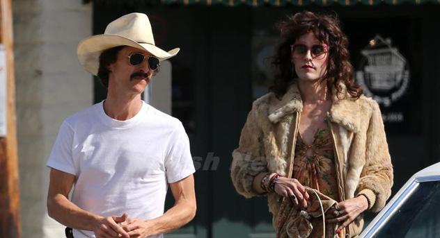 Matthew McConaughey and Jared Leto in Dallas Buyers Club, photo