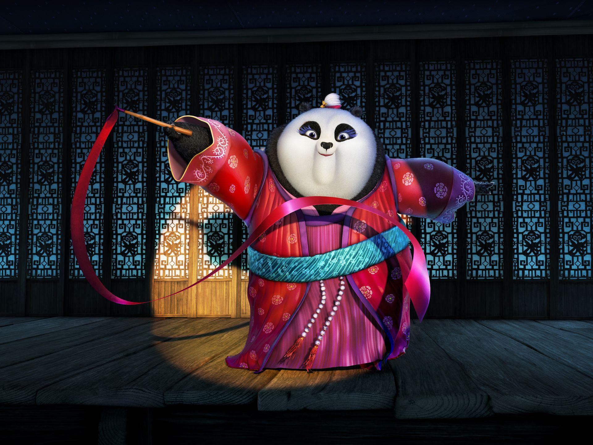 Kung Fu Panda 3, Mei Mei, Rebel Wilson, photo