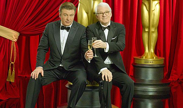 Steve Martin and Alec Baldwin