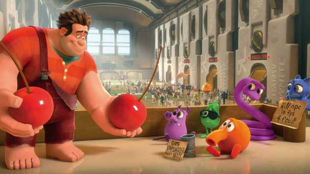 Not wrecked by Sandy, Ralph tops box office