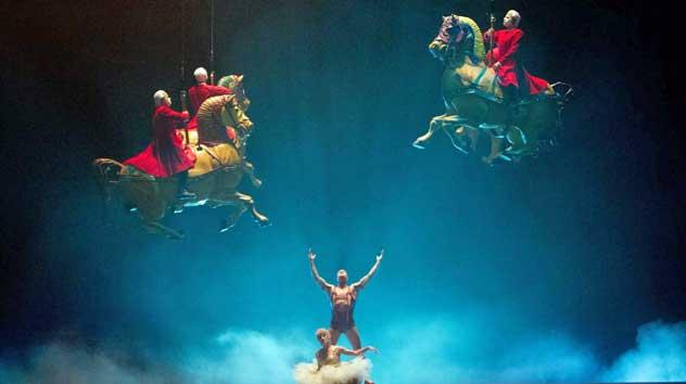 james cameron, cirque du soleil
