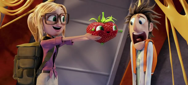 Cloudy with a Chance of Meatballs 2 foodimals