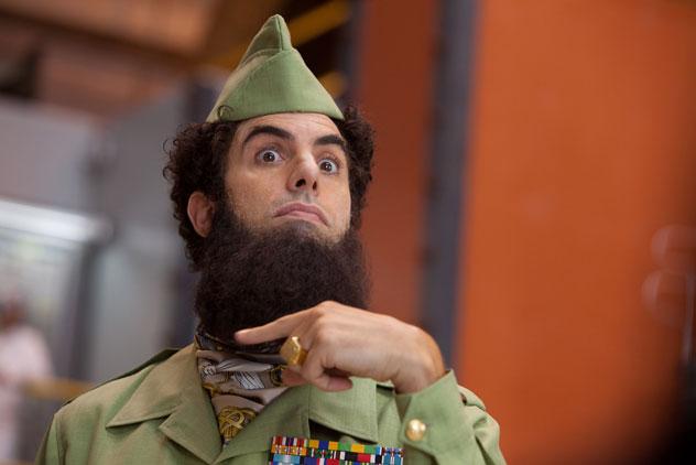 the dictator, sacha baron cohen