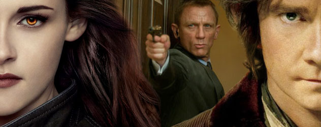 Bond, Bella and Bilbo headline our Holiday Movie Preview
