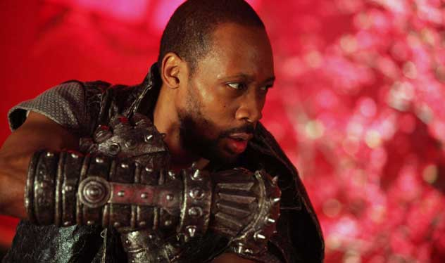the man with the iron fists, RZA