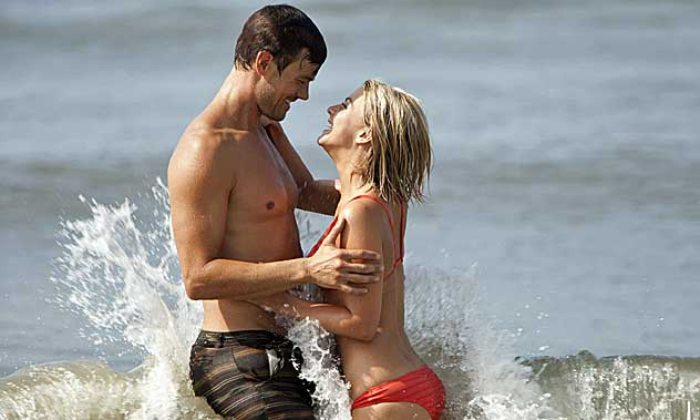 Josh Duhamel & Julianne Hough on acting like they're in love