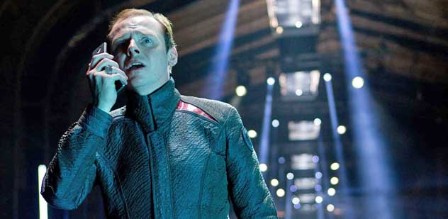 simon pegg, star trek into darkness