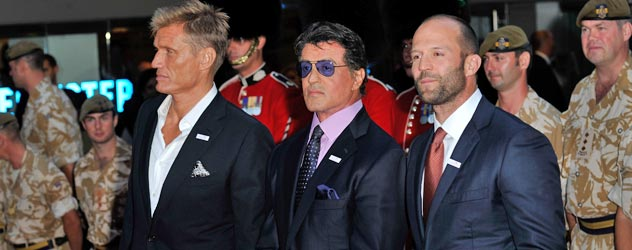 The Expendables in London
