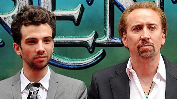 Jay Baruchel and Nicolas Cage