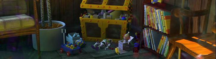 Buzz Lightyear in Finding Nemo