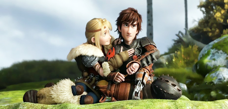 How to Train Your Dragon 2 Astrid Hiccup