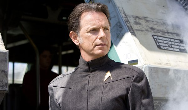 Bruce Greenwood as Captain Pike in Star Trek
