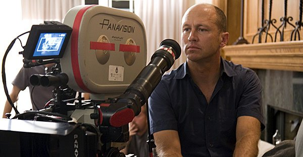 Mike Judge on the set of Extract