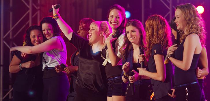 Pitch Perfect 2, Anna Kendrick, Rebel Wilson, Hailee Steinfeld, Elizabeth Banks, Photo