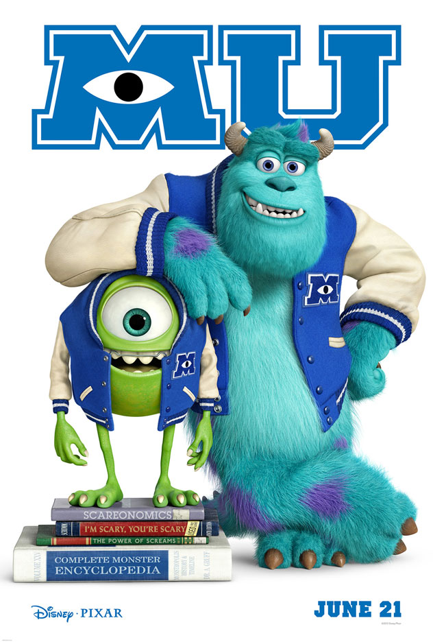EXCLUSIVE: Monsters University teaser poster debut