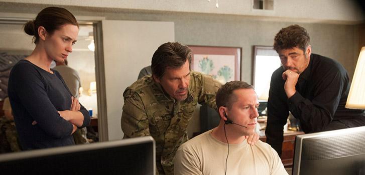 Q&A: Emily Blunt, Josh Brolin, and Benicio del Toro on Denis Villeneuve's Sicario