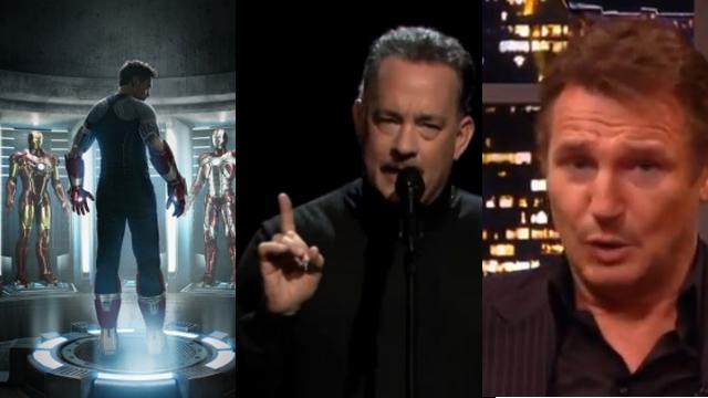 Iron Man 3, Tom Hanks and Liam Neeson