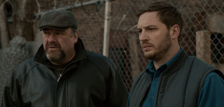 James Gandolfini, Tom Hardy, The Drop, TIFF, photo