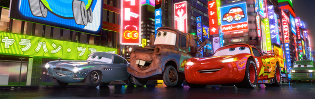 Cars 2 Character Rollout